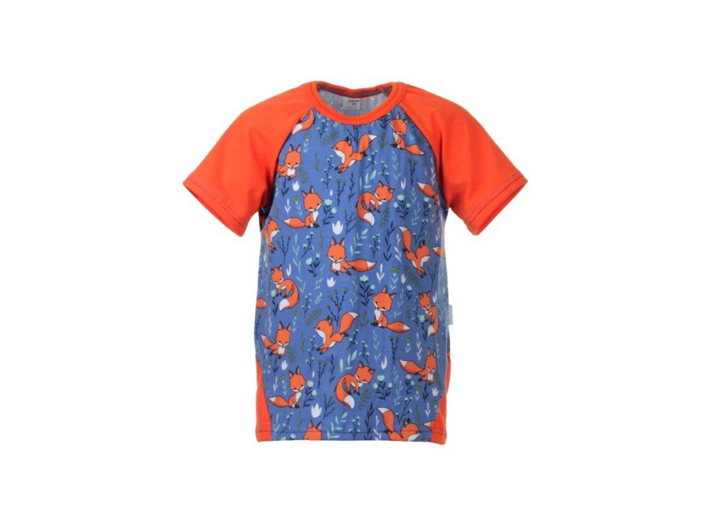 Dětské tričko s krátkým rukávem Lišky