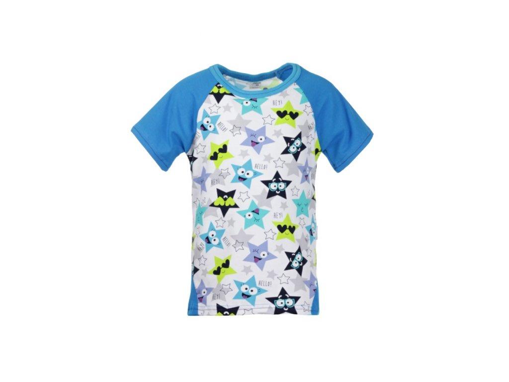 Dětské tričko s krátkým rukávem Hvězdy kluk