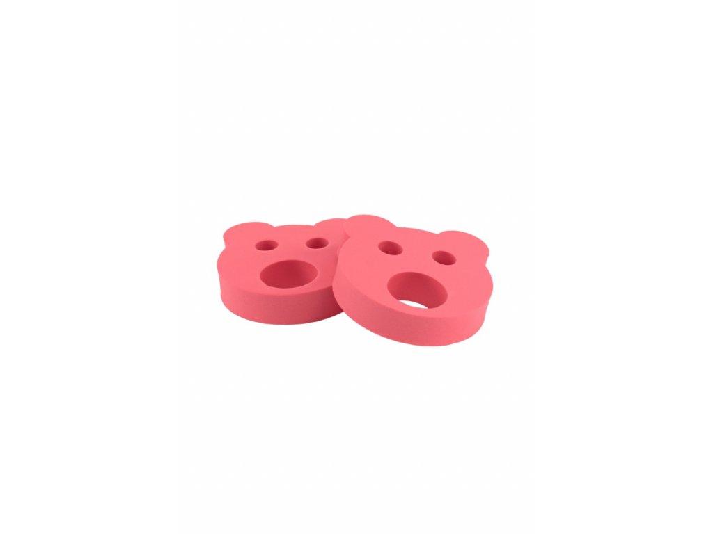 Dětské nadlehčovací kroužky BABY Medvídek červený