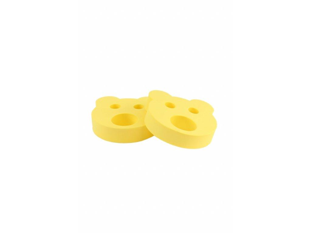 Dětské nadlehčovací kroužky BABY Medvídek žlutý
