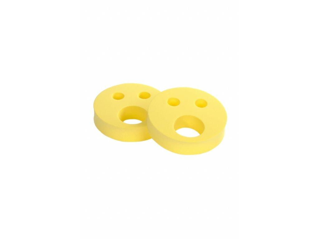 Dětské nadlehčovací kroužky BABY Smajlík žlutý
