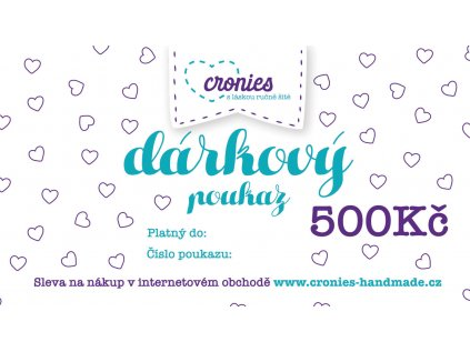 Gift Vouchers Cronies Tyrkys CZ4