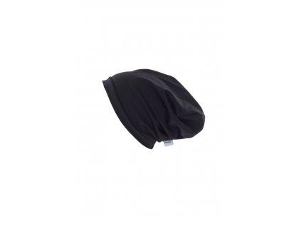 Dětská jednovrstvá čepice Černá