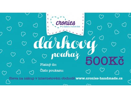 Gift Vouchers Cronies Tyrkys CZ1