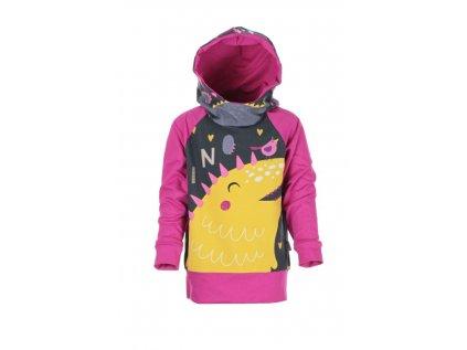 Mikina s kapucí Dino holka