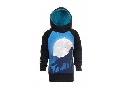 Mikina s kapucí Vlk