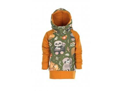 Mikina s kapucí V lese