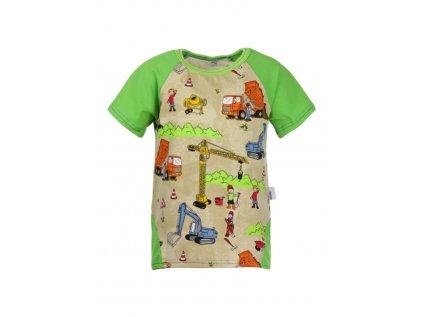 Dětské tričko s krátkým rukávem Staveniště