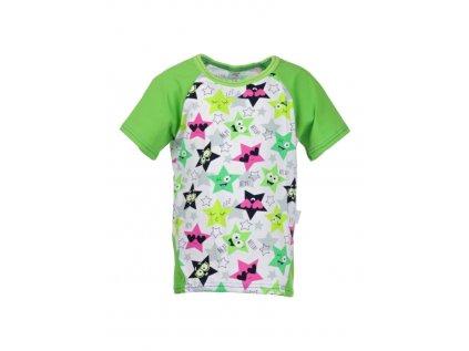 Dětské tričko s krátkým rukávem Hvězdy holka