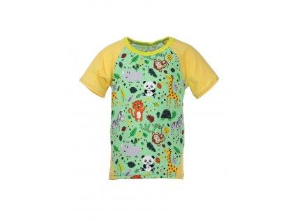Dětské tričko s krátkým rukávem ZOO
