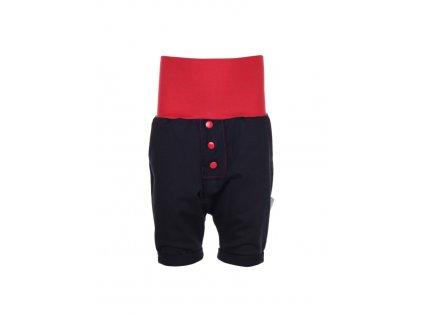 Dětské baggy kraťasy Červené
