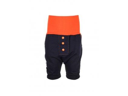 Dětské baggy kraťasy Oranžové