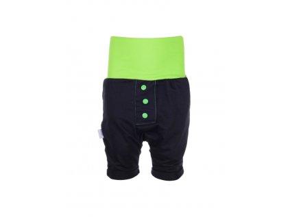 Dětské baggy kraťasy Zelené