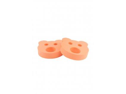 Dětské nadlehčovací kroužky BABY Medvídek oranžový