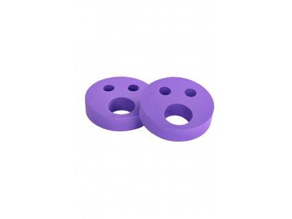 Dětské nadlehčovací kroužky BABY Smajlík fialový