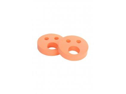 Dětské nadlehčovací kroužky BABY Smajlík oranžový