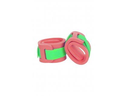 Dětské nadlehčovací rukávky Zelený zipPásek zelený (3)