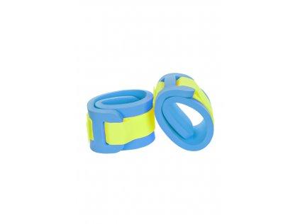 Dětské nadlehčovací rukávky Žlutý neonový zipžl. neon modrá ok