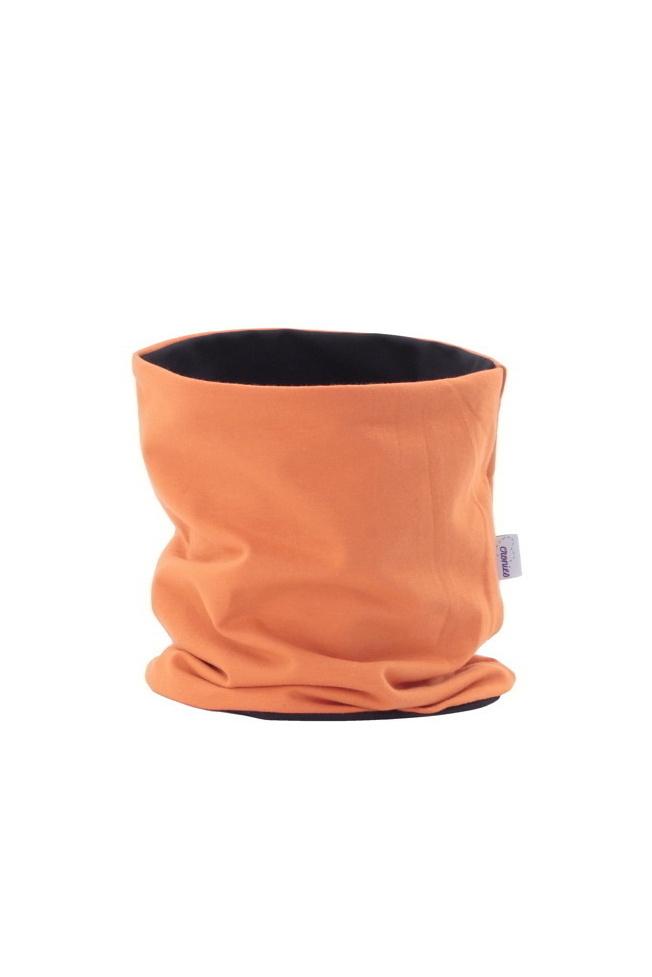 Cronies Dvouvrstvý nákrčník Oranžový Velikost: 40-42 cm
