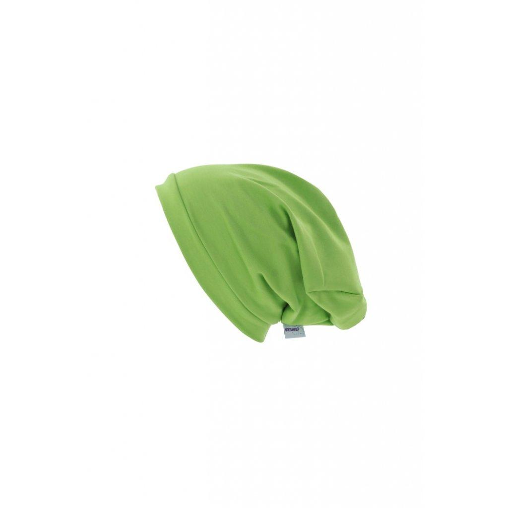 Jednovrstvová čiapka Zelená