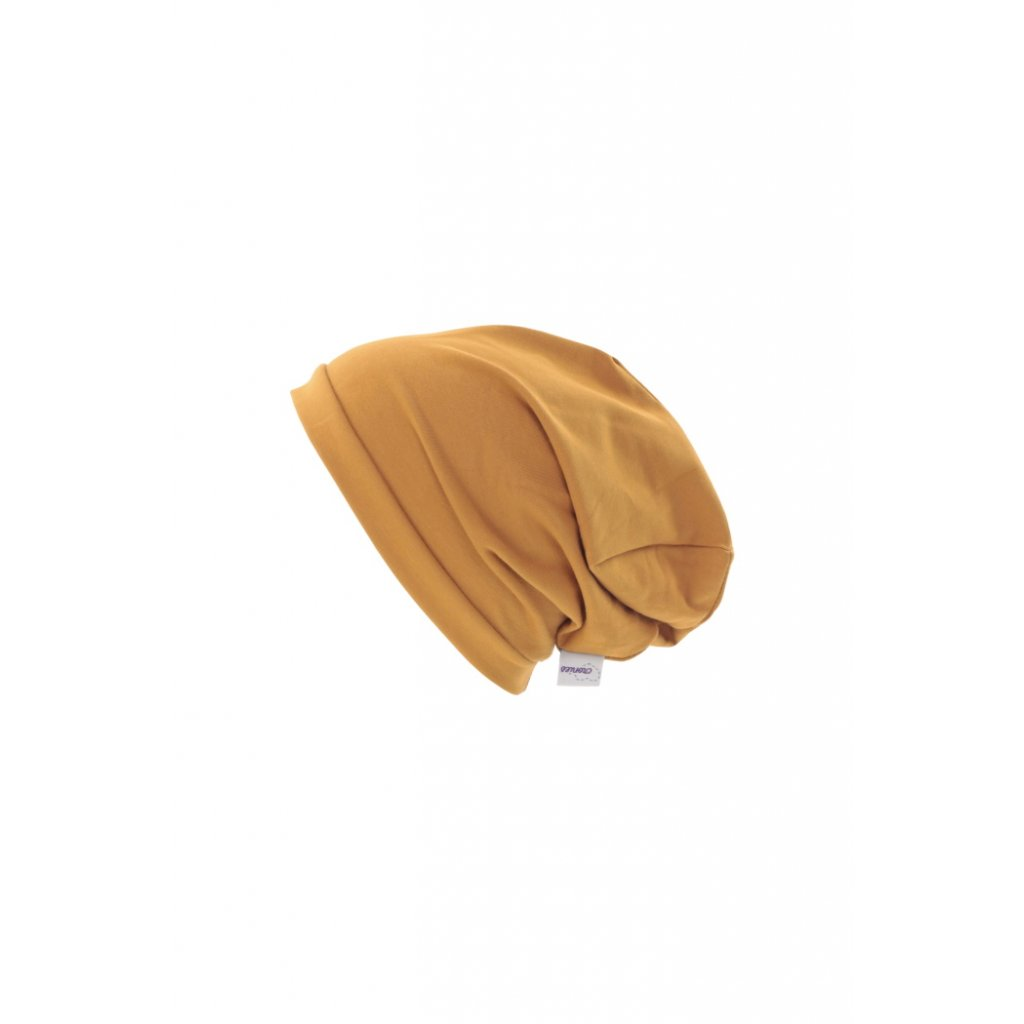 Jednovrstvová čiapka Okrová