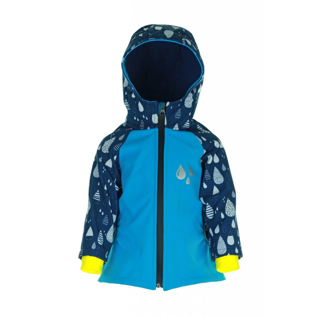 Detská softshellová bunda Dážď