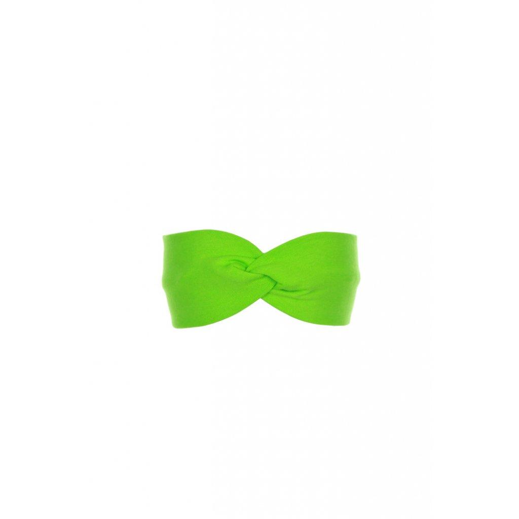 Detská čelenka Zelená