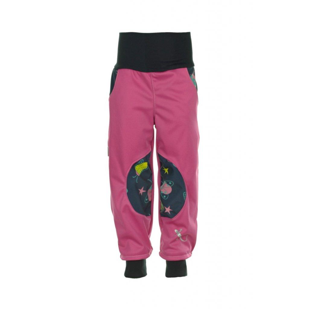 Detské softshellové nohavice Chrobáčiky II