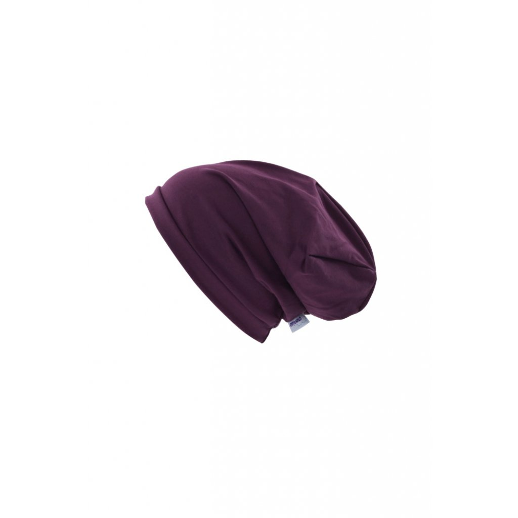Jednovrstvová čiapka Bordó