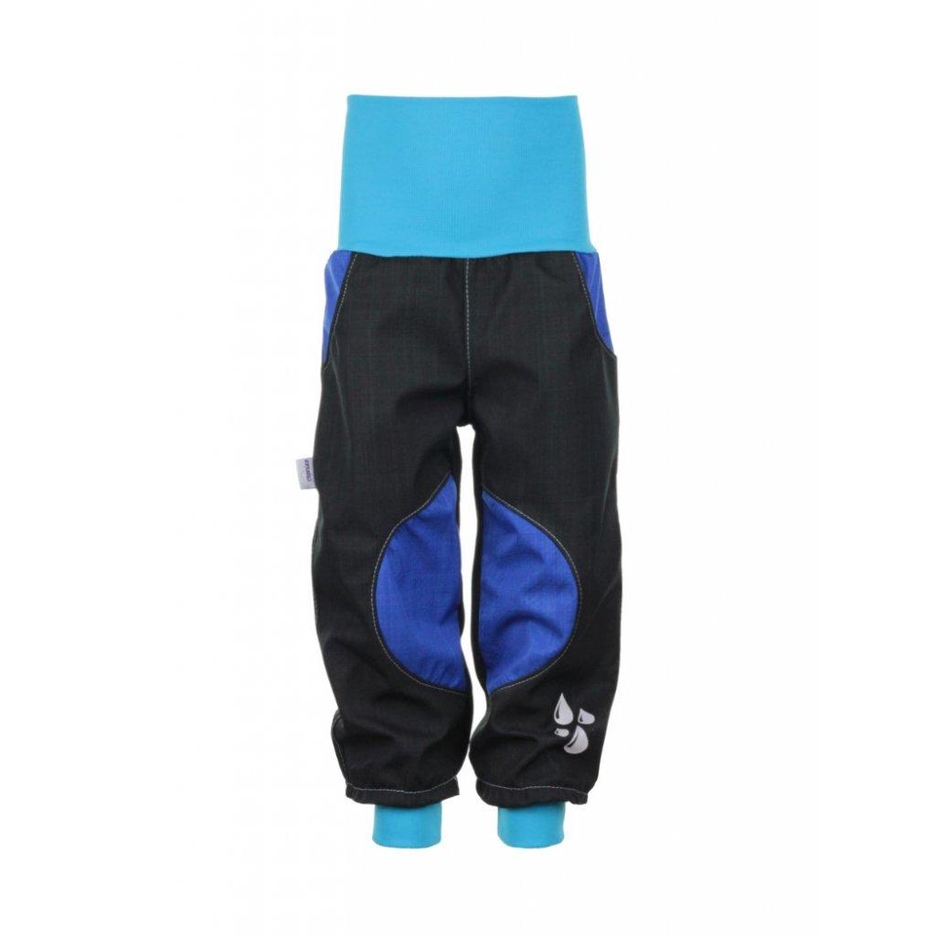 Nepremokavé softshellové nohavice Modré