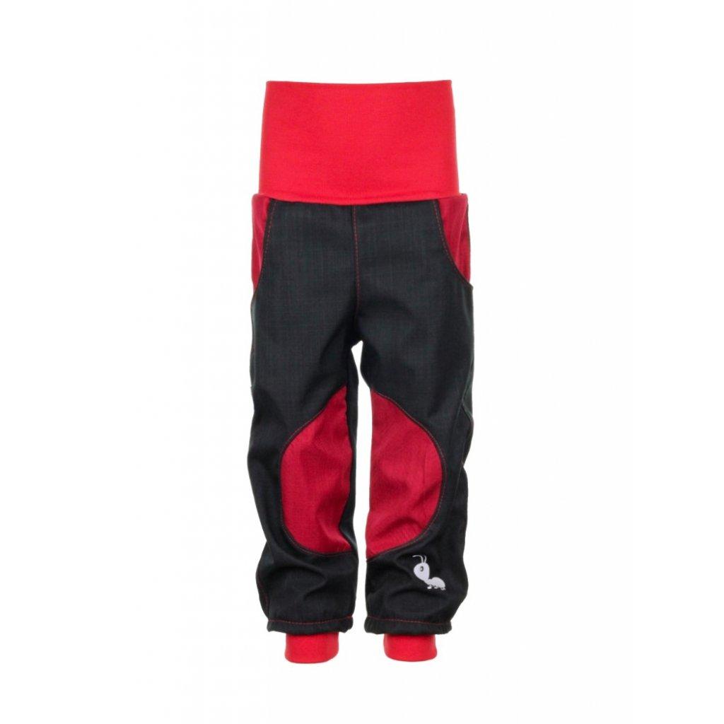 Nepremokavé softshellové nohavice Červené