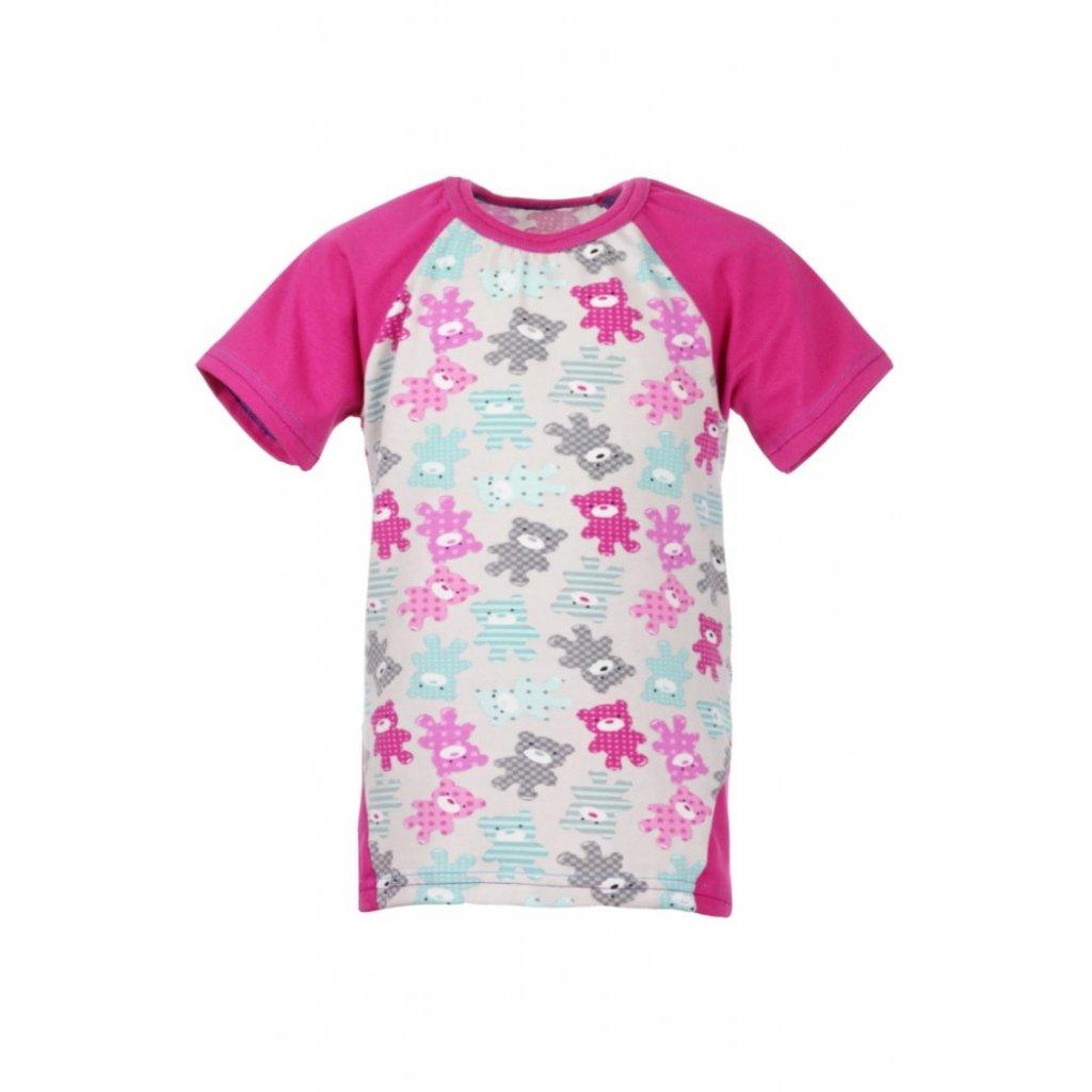 Detské tričko s krátkym rukávom Medvedíky