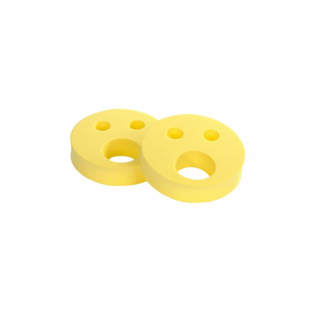 Detské nadľahčovacie krúžky BABY Smajlík žltý