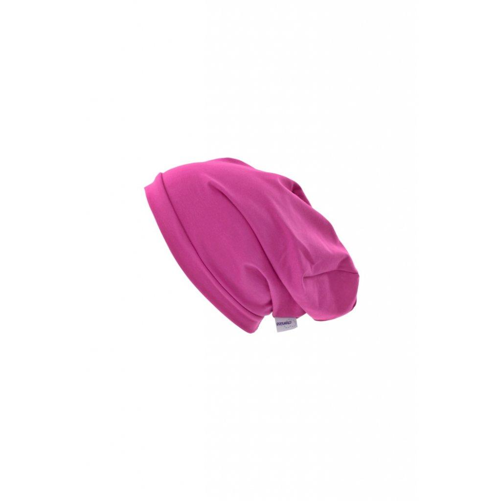 Jednovrstvová čiapka Fuksiová