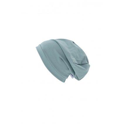 Jednovrstvová čiapka Mentolová