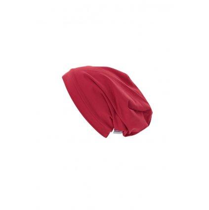 Jednovrstvová čiapka Červená