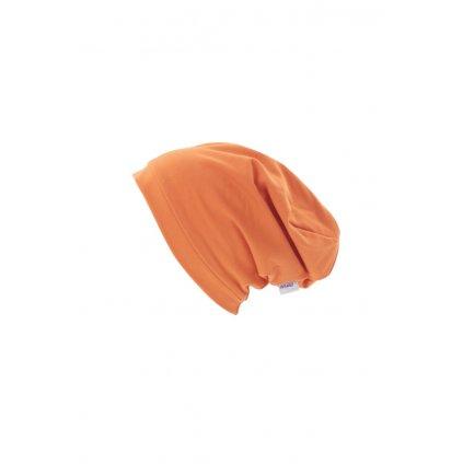 Jednovrstvová čiapka Oranžová