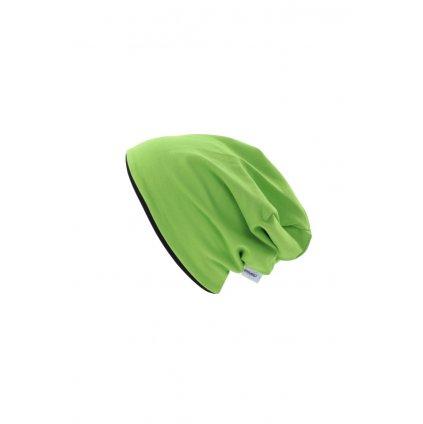 Dvojvrstvová čiapka Zelená