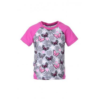 Tričko Ružoví motýlci
