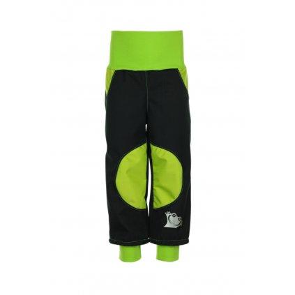 Nepremokavé softshellové nohavice Zelené