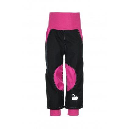 Nepremokavé softshellové nohavice Ružové