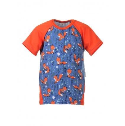 Detské tričko s krátkym rukávom Lišky