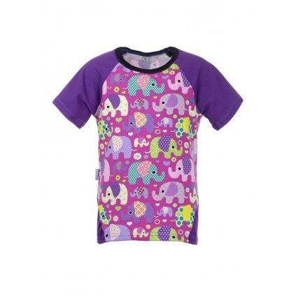 Detské tričko s krátkym rukávom Sloni