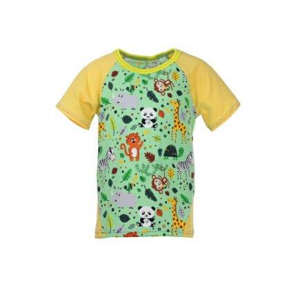 Detské tričko s krátkym rukávom ZOO