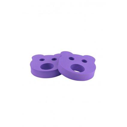 Detské nadľahčovacie krúžky BABY Medvedík fialový