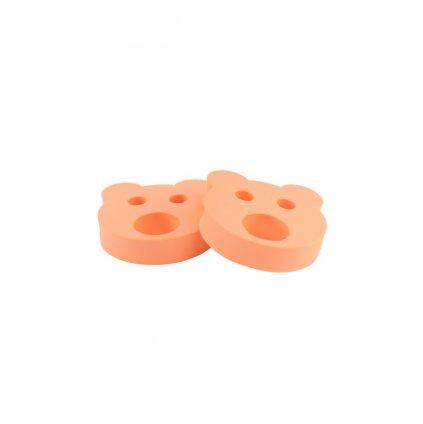 Detské nadľahčovacie krúžky BABY Medvedík oranžový