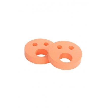 Detské nadľahčovacie krúžky BABY Smajlík oranžový