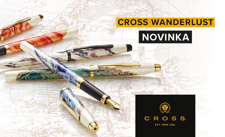 unikátní kolekce Cross Wanderlust