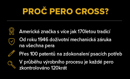 Proč pero Cross