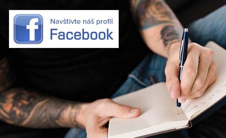 zalajkujte si náš profil na Facebooku